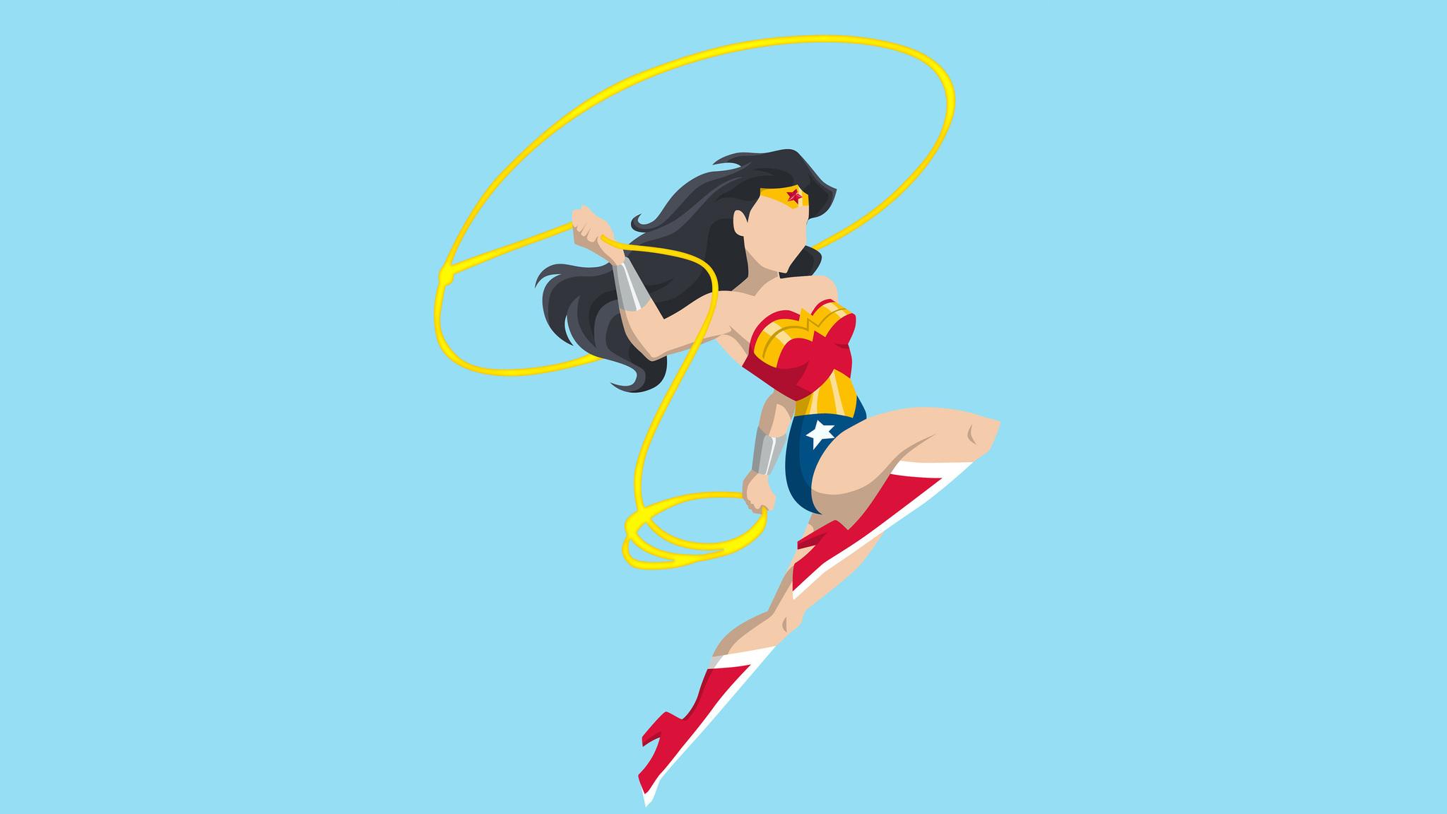 2048x1152 2048x1152 Wonder Woman Vector Style 2048x1152 Resolution Hd 4k