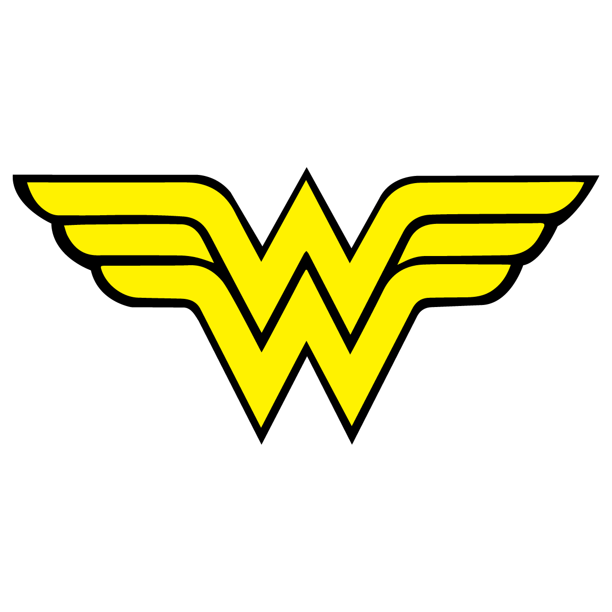 1200x1200 Wonder Woman Logo Vector Free Vector Silhouette Graphics Ai Eps