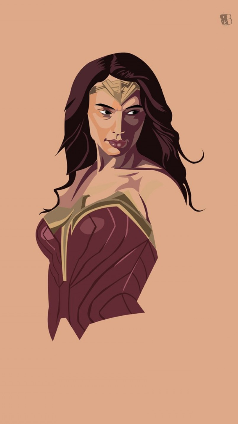 Wonder Woman Vector At Getdrawings Com Free For Personal Use