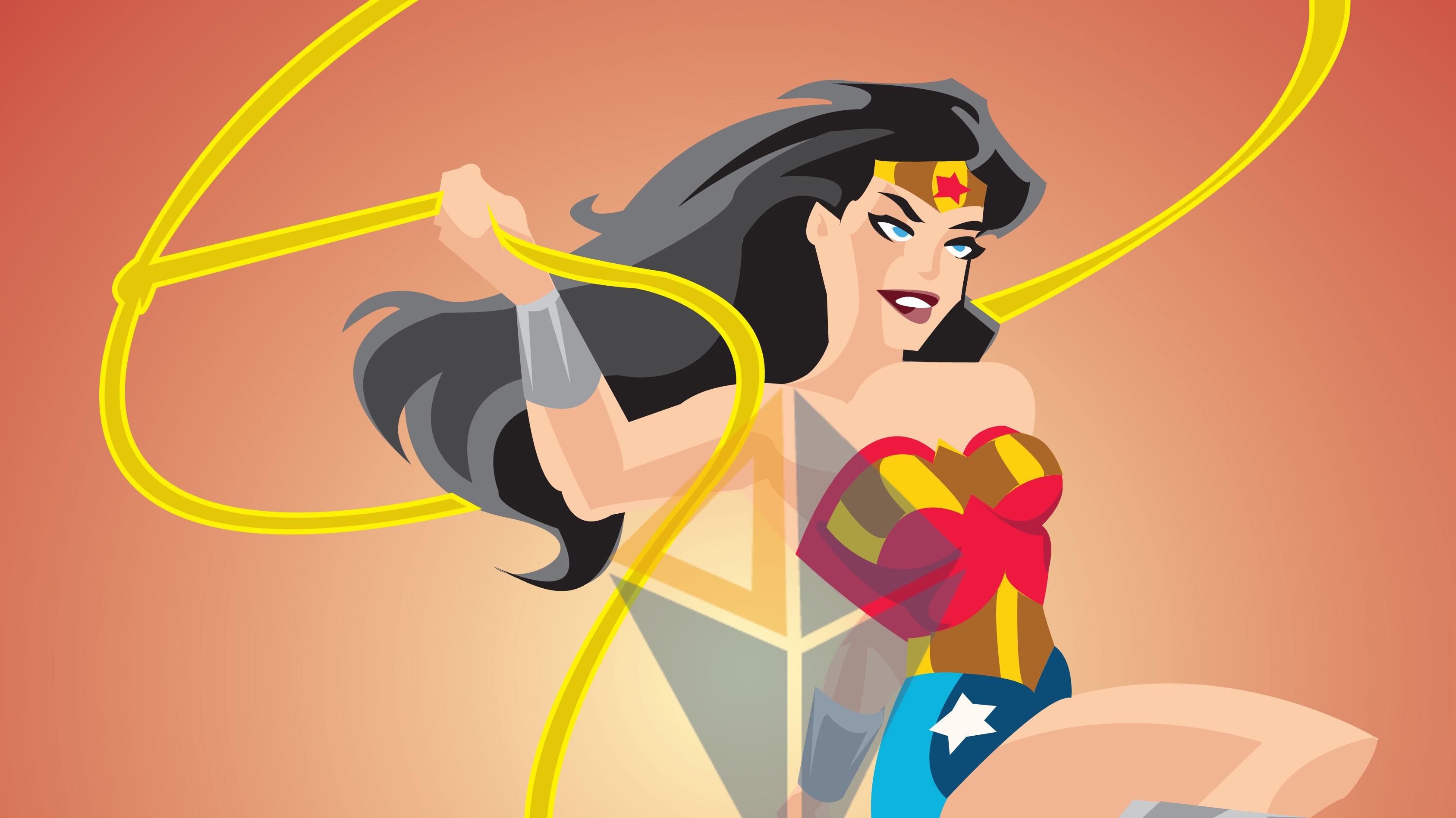 3375x1898 Wonder Woman Vector Art 4k Hdwpsite