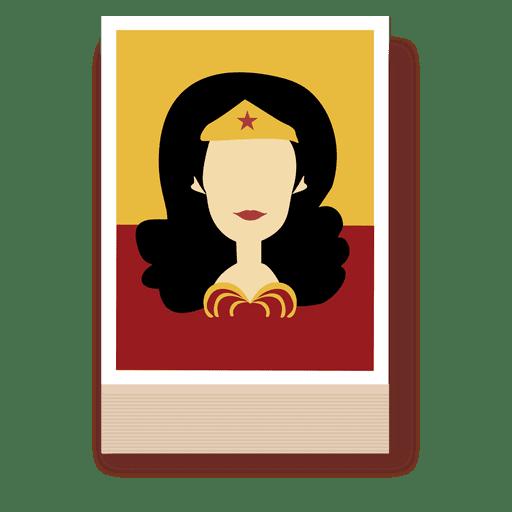 512x512 Wonder Woman Cartoon Character