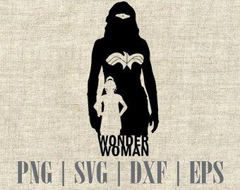 340x270 Wonder Woman Vector Etsy
