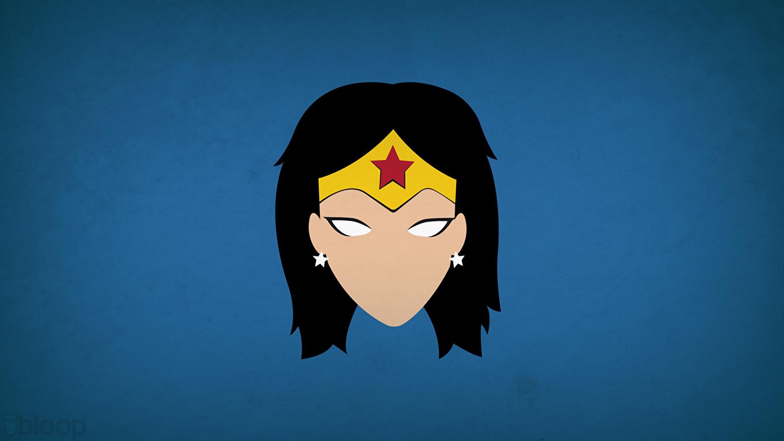 1600x900 Photo Heroes Comics Wonder Woman Hero Head Vector Graphics 1600x900
