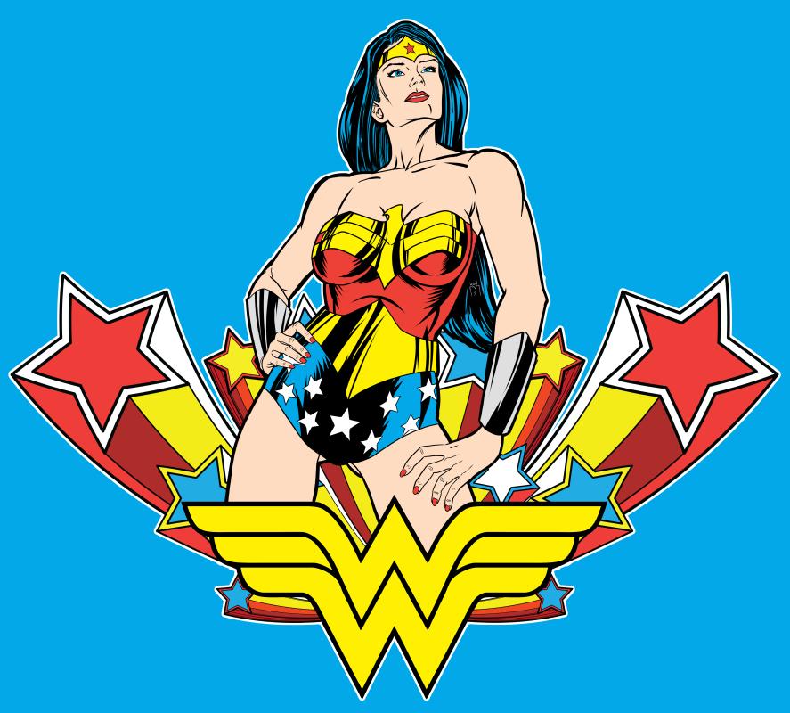 887x800 Wonder Woman With Vectors Website Amp Wordpress Design Phoenix