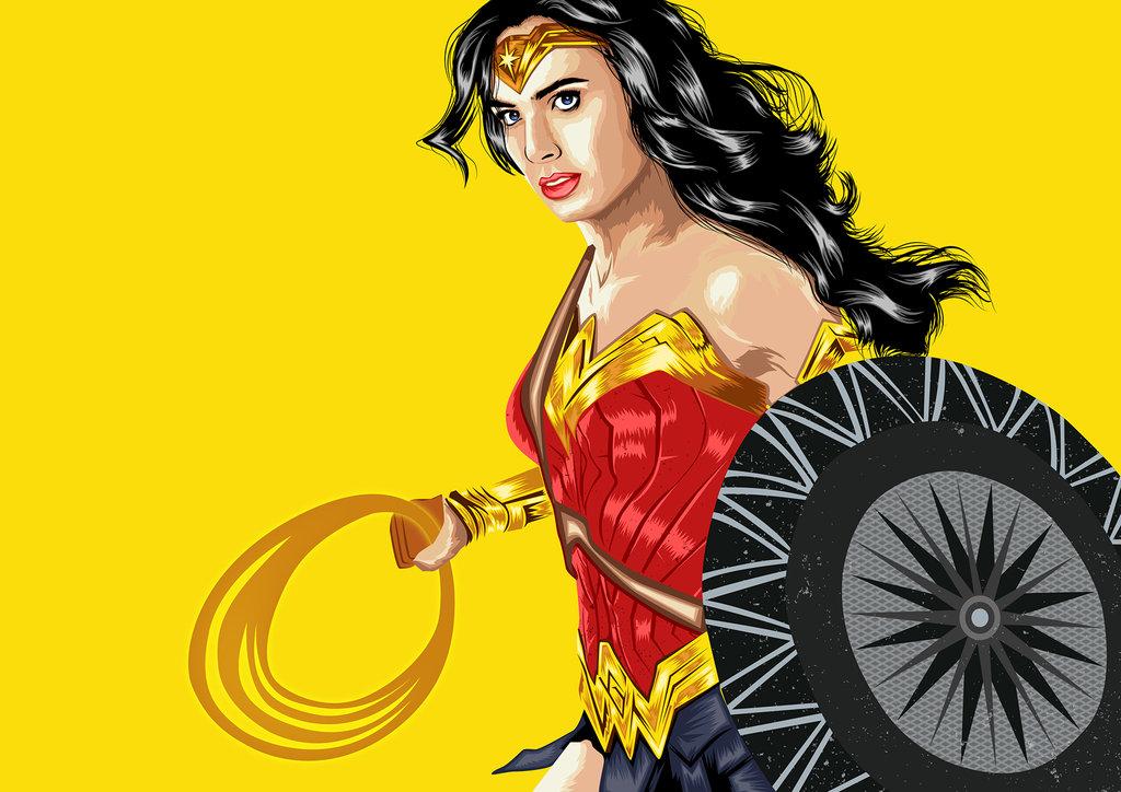 1024x724 Wonder Woman By Karthick2494
