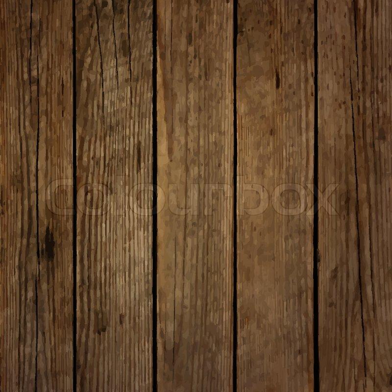 800x800 Dark Wood Board Vector Background Stock Vector Colourbox
