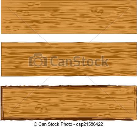 450x415 Vector Wood Planks. Vector Texture Wood Planks Banner Templates Set.