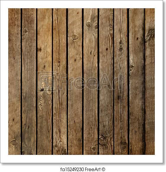 561x581 Free Art Print Of Dark Wood Board Vector Background Freeart