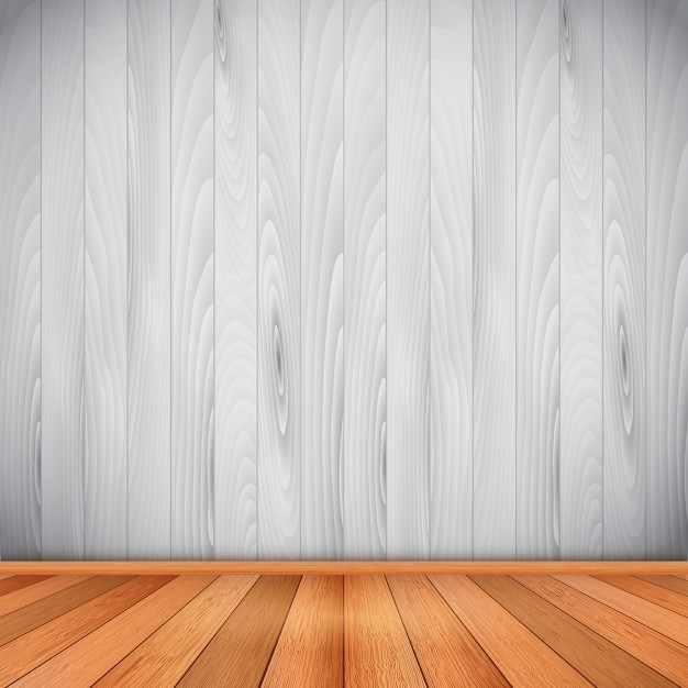 626x626 Empty Room With Wooden Floor And Wall Vector Free Download