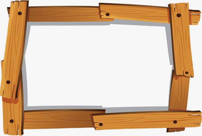 650x438 Rivet Link Wood Frame, Wood Vector, Frame Vector, Vector Material
