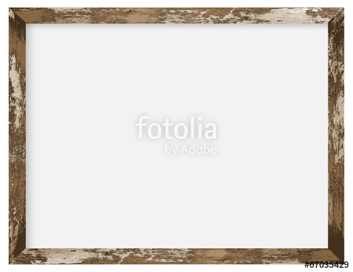 500x386 Rustic Wooden Photo Frame Stock Image And Royalty Free Vector