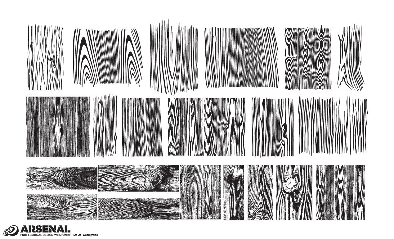 1270x770 Adobe Illustrator Wood Texture Vector Pack