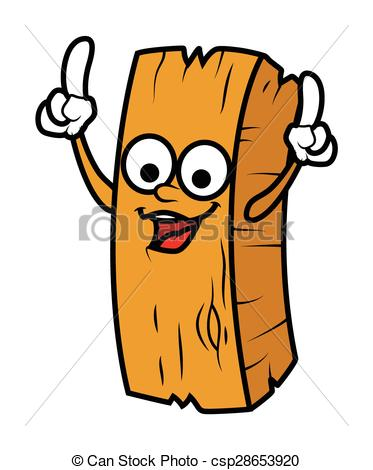 373x470 Dancing Cartoon Wood Log Character Vector Illustration.