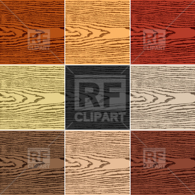 400x400 Set Of Realistic Wood Plank Vector Image Vector Artwork Of