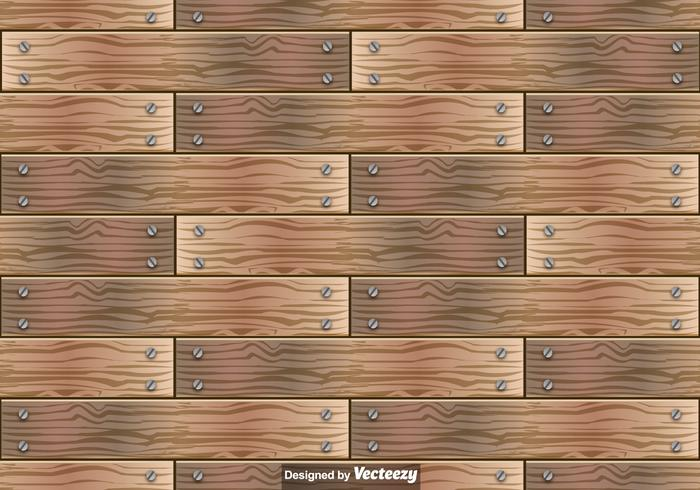 700x490 Wooden Planks Vector Seamless Pattern