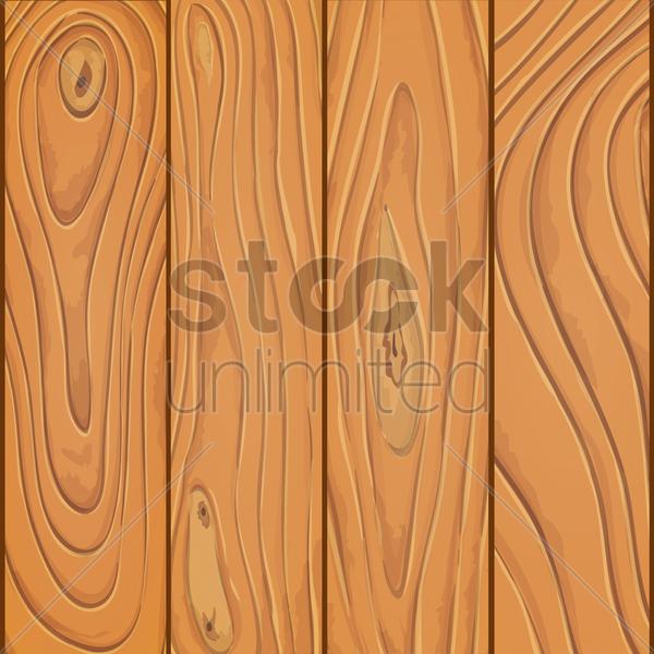 600x600 Wooden Plank Vector Image