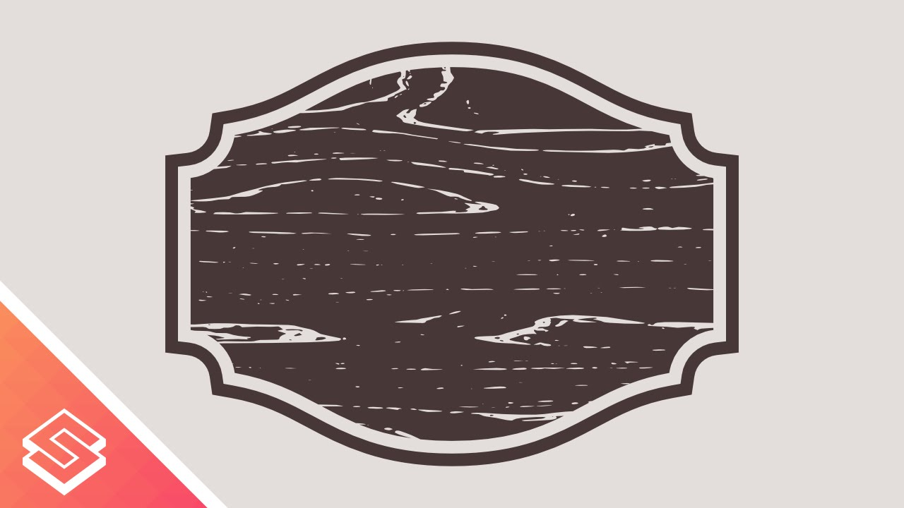 1280x720 Inkscape For Beginners Custom Shape With A Vector Wood Texture