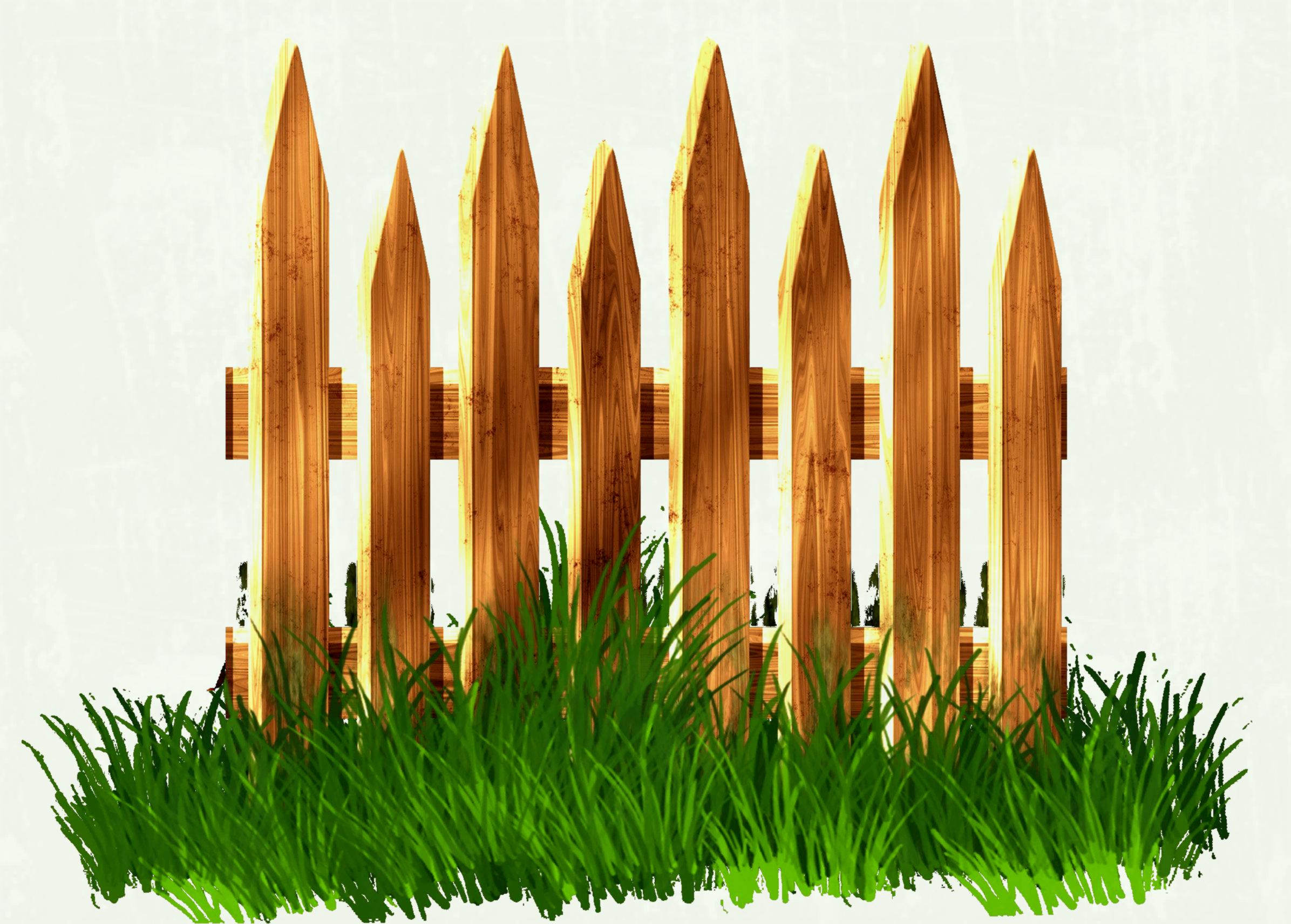 2392x1711 Wood Fence Vector Royalty Free Cliparts Vectors And Stock Amazing