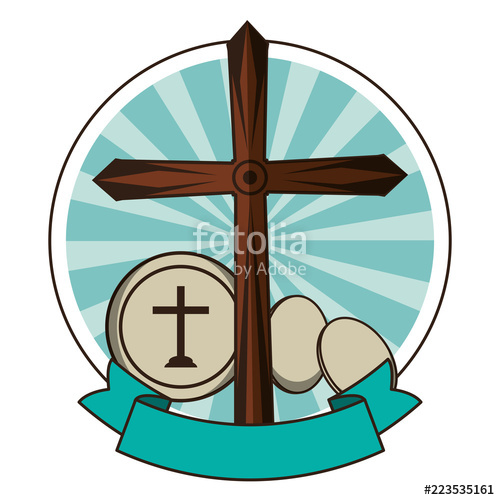 500x500 Christian Wooden Cross Symbol Stock Image And Royalty Free Vector