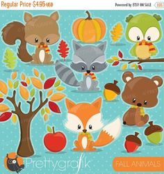 236x250 Premium Woodland Animals Clip Art Amp Vectors