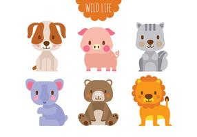 286x200 Woodland Animal Free Vector Art