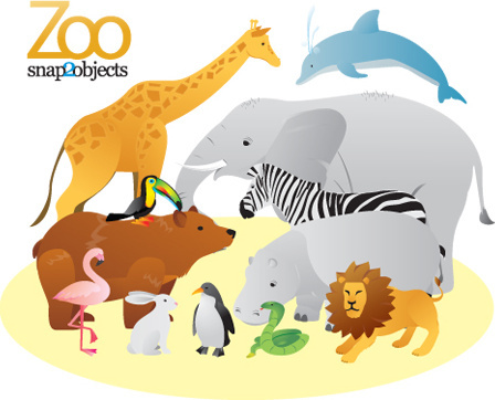 448x362 Woodland Animals Free Vector Download (7,272 Free Vector) For