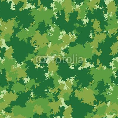 400x400 Green Forest Seamless Pattern. Vector Seamless Pattern Camouflage