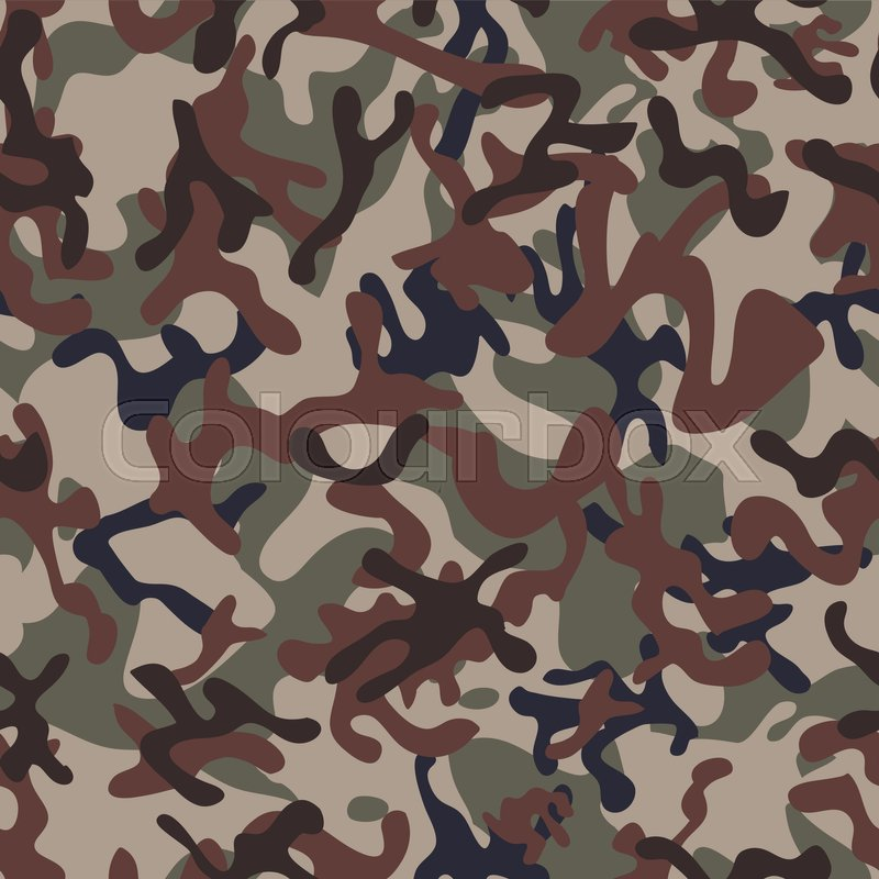 800x800 Multiterrain Woodland Camouflage Seamless Patterns. Modern Trendy