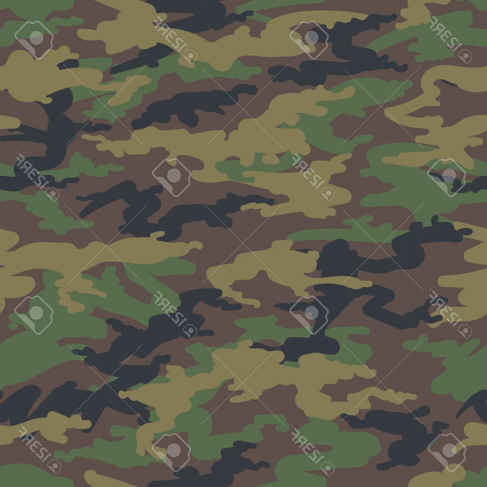 1560x1560 Photostock Vector Military Army Camo Background Vector Woodland