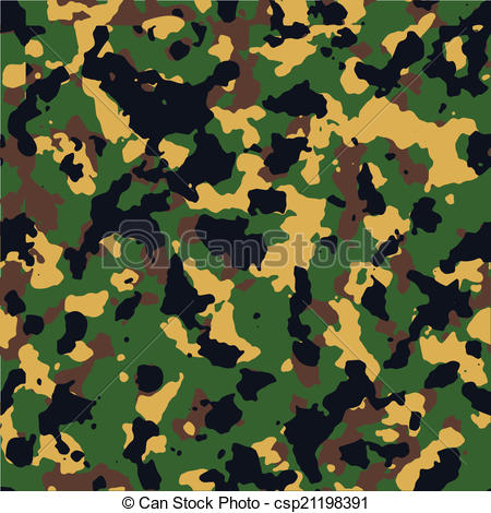 450x470 Bright Woodland Seamless Camo Pattern Vector.