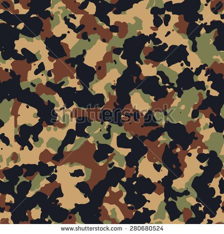 450x470 Seamless Fashion Bright Woodland Camouflage Pattern Vector