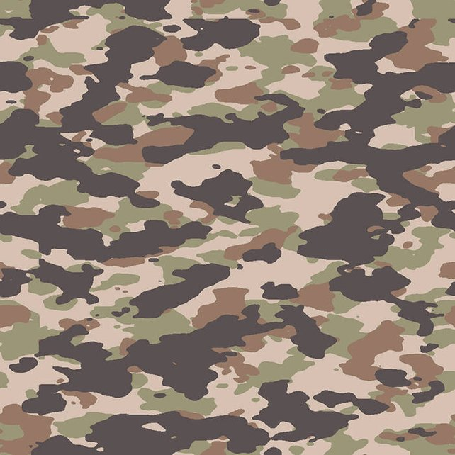 642x642 Woodland Camo 3 Army Camouflage Seamless Pattern Military War Etsy