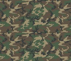 236x202 Camouflage Background With A Seamless Design. Woodland Style