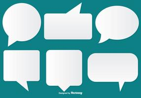 286x200 Speech Bubbles Free Vector Art