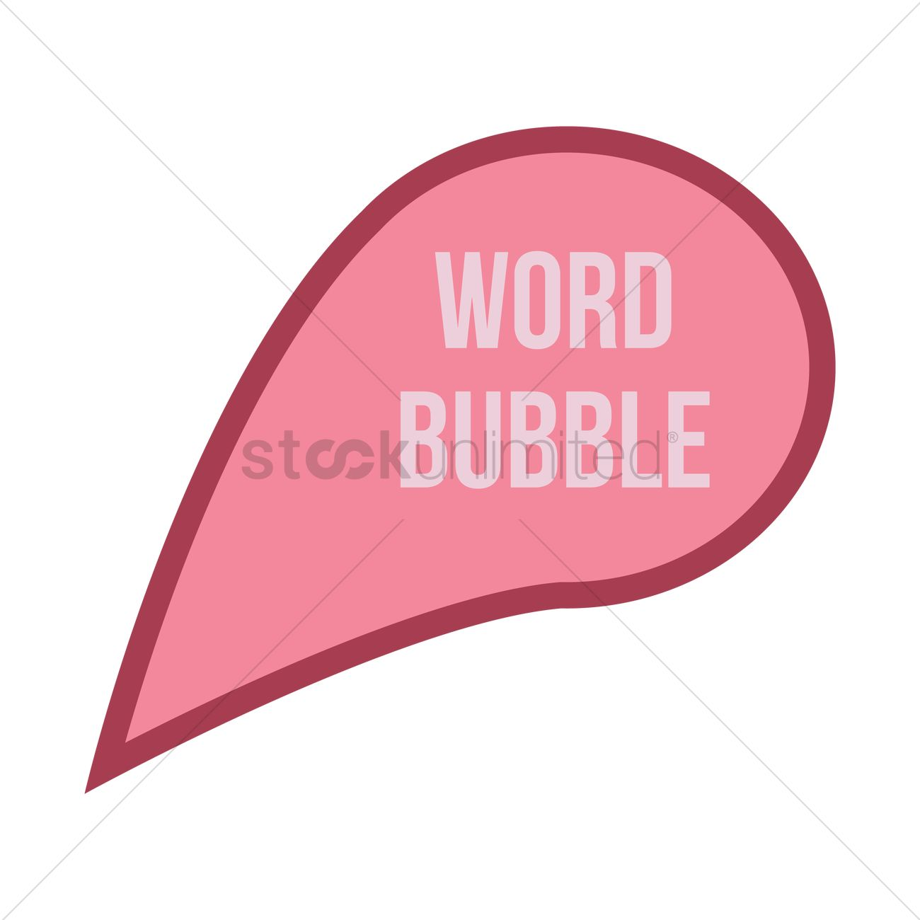 1300x1300 Speech Bubble Vector Image