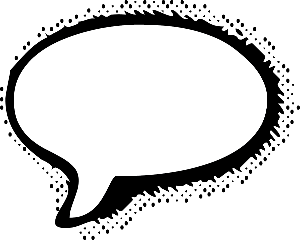 1196x960 Thought Bubble Vector, White Callout Speech Bubble Vectors