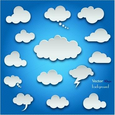 369x368 Cloud Vector Free