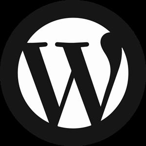 300x300 Wordpress Icon Logo Vector (.eps) Free Download