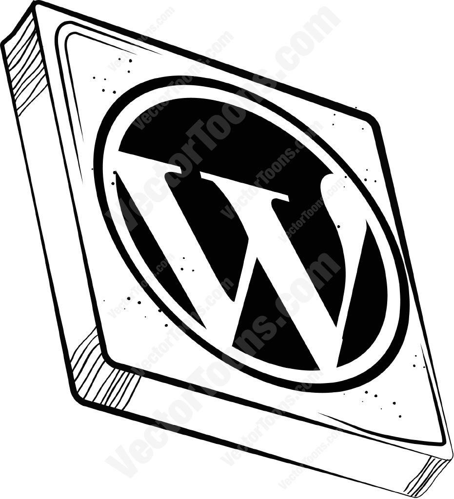 931x1024 Wordpress Icon Clipart By Vector Toons