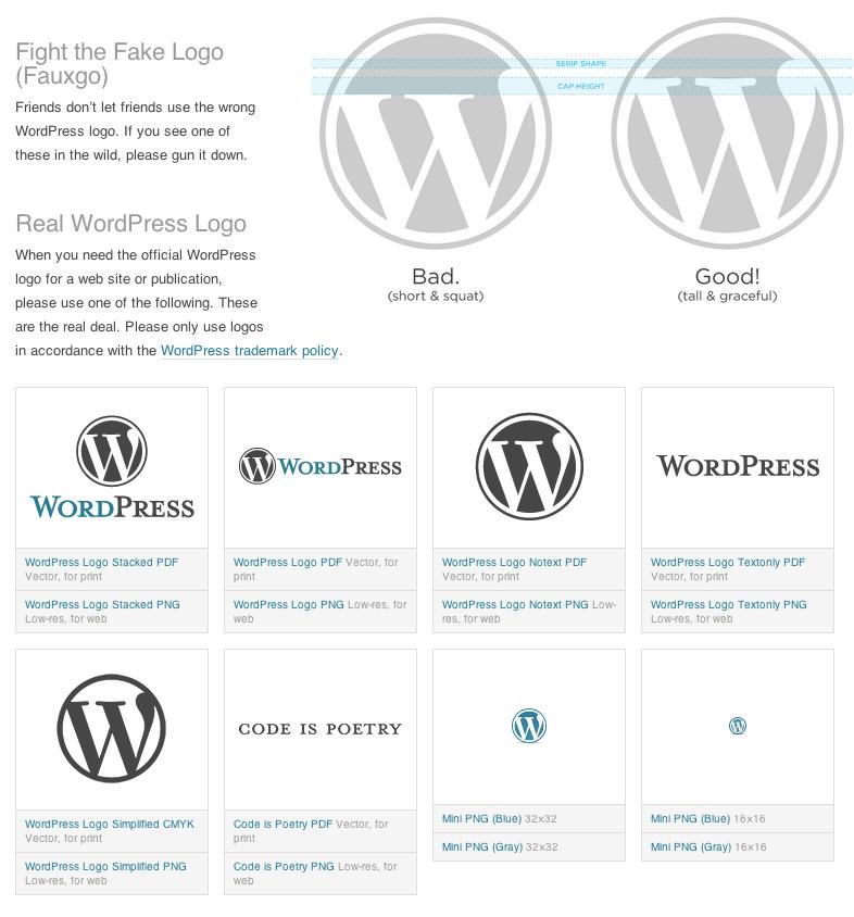 786x844 Wordpress Logos Support
