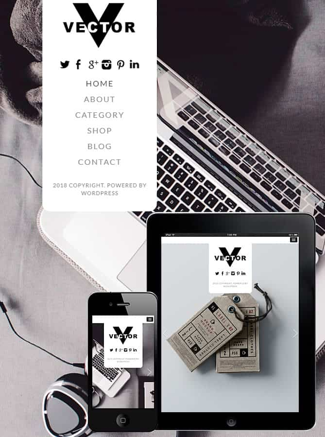 669x899 Vector Wordpress Theme