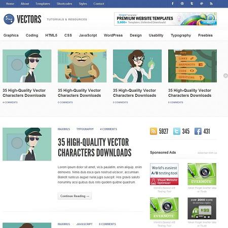 450x450 Vectors Community Amp News Wordpress Theme