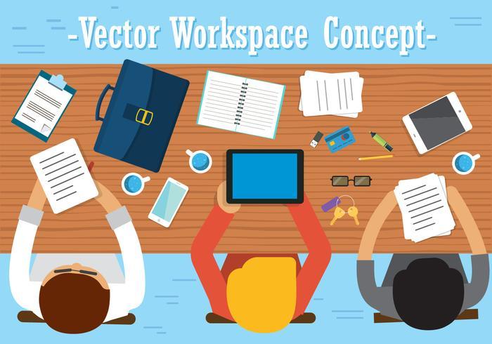 700x490 Free Team Work Vector Design