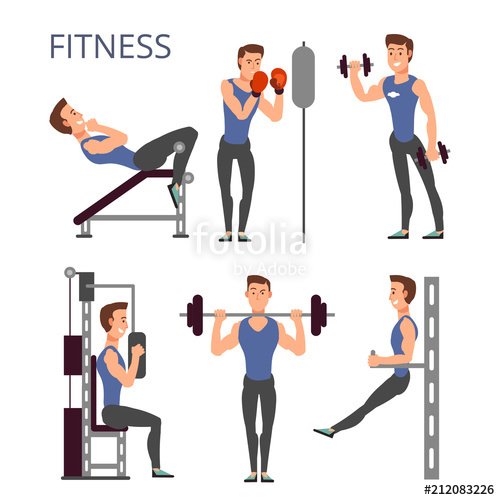 The best free Gym vector images  Download from 236 free