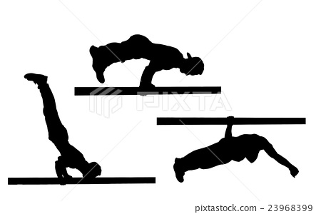 450x300 Street Workout , Vector Stock Images