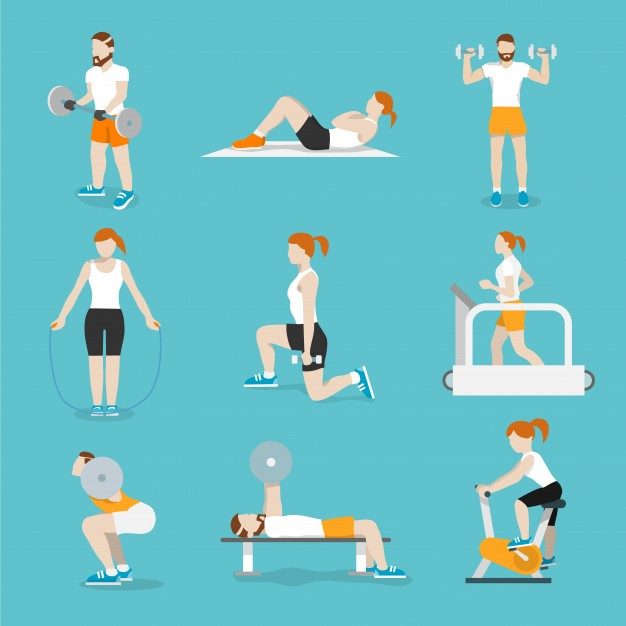 626x626 Workout Vector Vectors, Photos And Psd Files Free Download