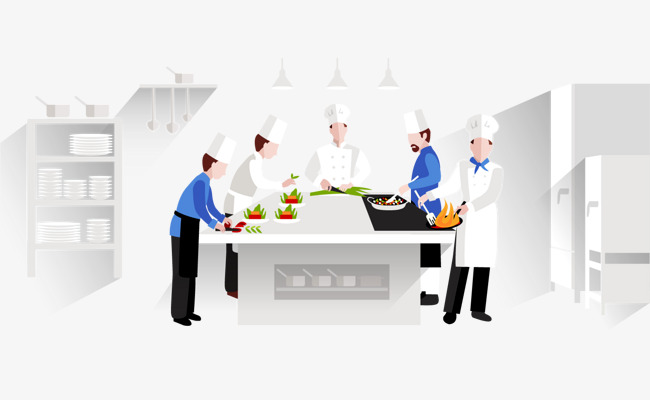 650x400 Vector Painted Cook Workshop, Vector, Hand Painted, Chef Png And