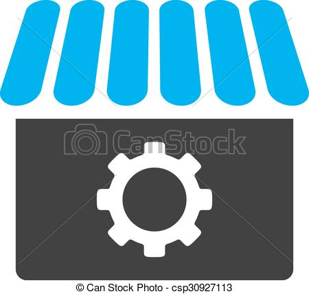 450x428 Workshop Icon. Workshop Vector Icon. Style Is Bicolor Flat Symbol