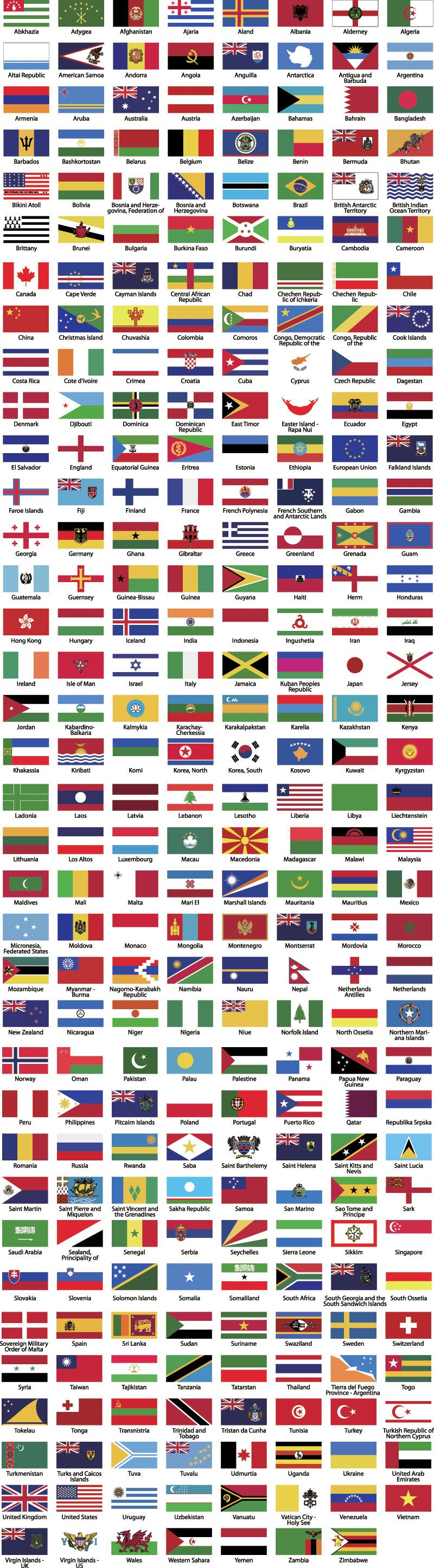 800x2893 World Flags Vector Vector Flags, History And