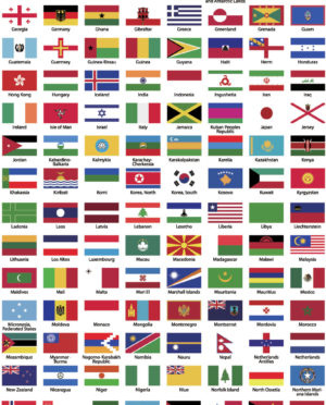 300x372 World Flags Vector History And Vector. Map Of Countries